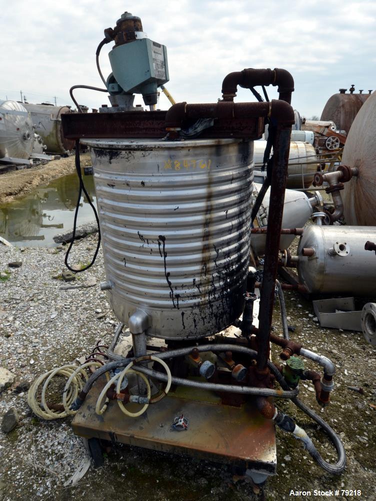 Used- 100 Gallon Stainless Steel United Utensil Kettle