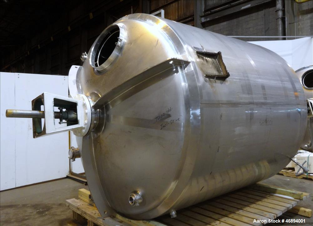 Used- Walker Stainless Processor, Model Process, 316 Stainless Steel, Vertical.