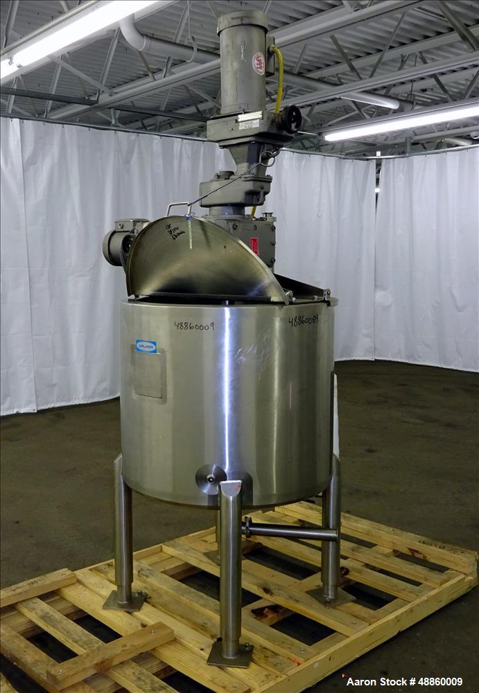 Used Walker Kettle Model Pz Cr B 50 Gallon 31