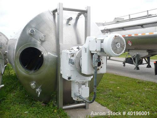 "Unused- Walker Stainless Double Motion Kettle, 7500 Gallon, 304 Stainless Steel, Vertical. 108"" diameter x 16' straight side..."