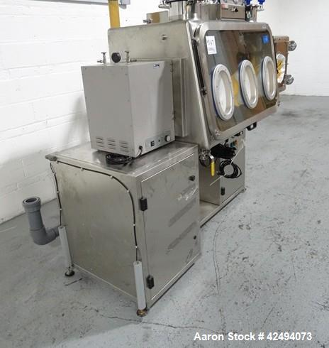 """Used- IsoTech Design Isolator, Model 150PROTECT. Stainless steel construction, 48"""" wide x 30"""" deep x 28"""" high chamber, singl..."""