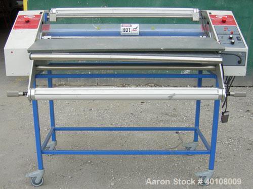 "Used:  Ledco Inc. Signmaster 44"" Hot Roll Laminator/Mounter.  Maximum laminating width 44"", variable speed 1-25 feet per min..."