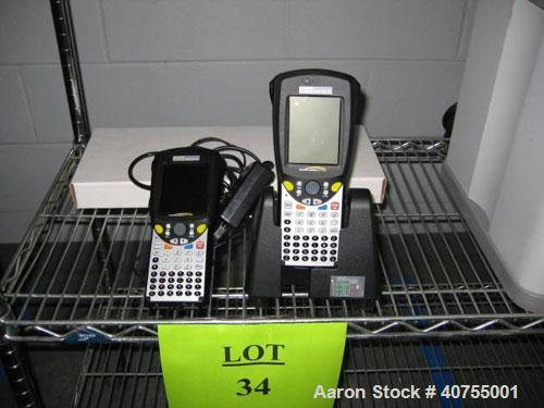Used-Psion Teklogic Workabout Pro 7525 mobile computer wireless scanners. With docking stations and chargers.
