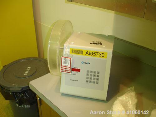 Used- Vankel Friability Tester, model 45-1200, single plastic test chamber, 25 rpm with controls, 115 volt, serial #4-1774-0...