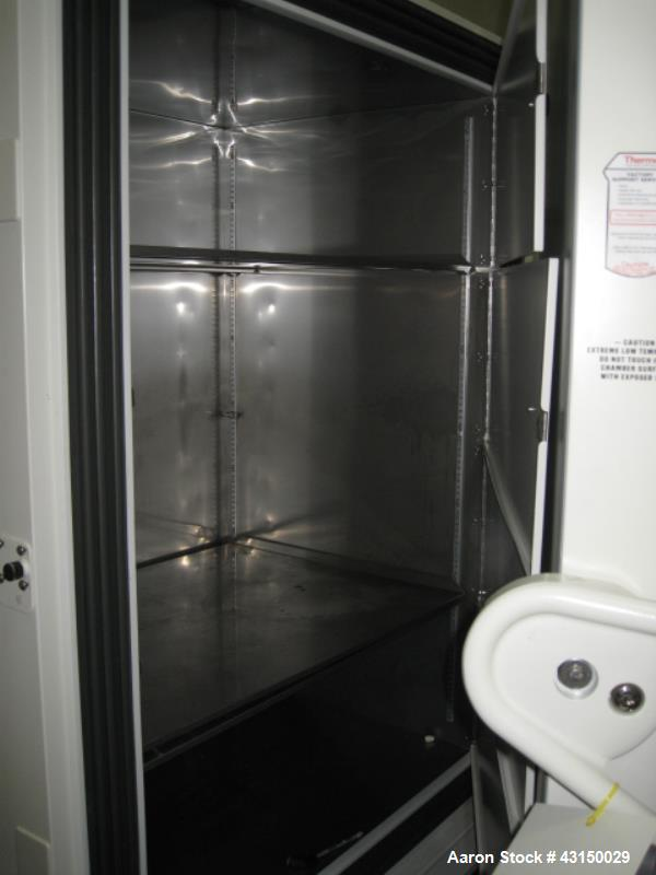 Used- Thermo Electron Corporation freezer, model 907