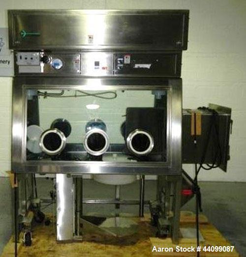 Used- Stainless Steel La Calhene solid wall isolator