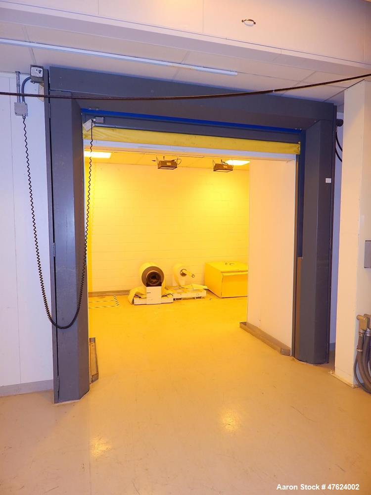 Used-Motorized Quick Roll Up Door, 8' h x 8' w.
