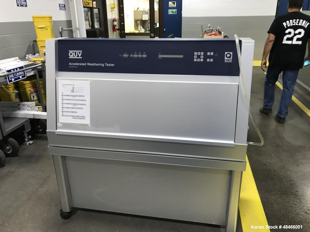 Used- Q-Lab QUV/Basic Accelerated Weathering Tester. UV exposure: choice of lamps for various applications. Exposure tempera...