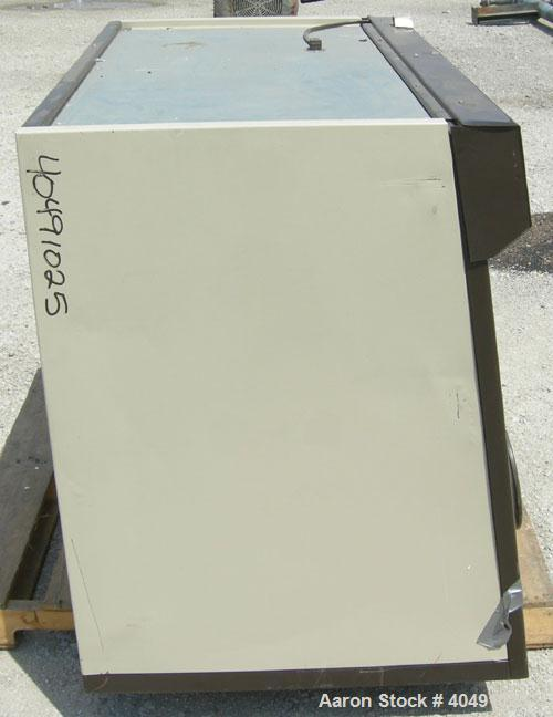 Used- Labconco controlled atmosphere glove box, model 50600-00, carbon steel. 1/60/115 volt. Includes a transfer chamber.