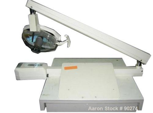 USED: A-Dec wall mount dental light, model 6300. Includes mounting plate.