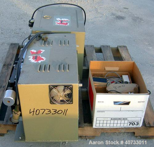 Used-Falex friction and wear testing machine, model Falex-1 Ring and Block. Test speed 9 to 3600 rpm, load 5 to 1300 lbs, te...