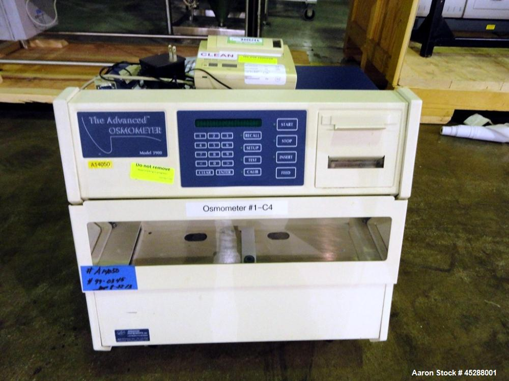 Used- Advanced Instruments Multi Sample Osmometer, Model 3900