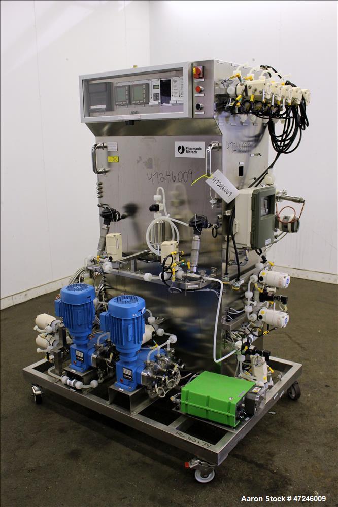 Used- Amersham Pharmacia Biotech Chromatography Skid, System 403.