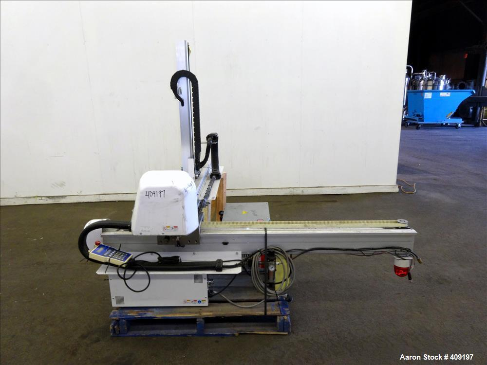 Used- Yushin America 1-Stage Servo Traverse Robot, Model ATA-150S.
