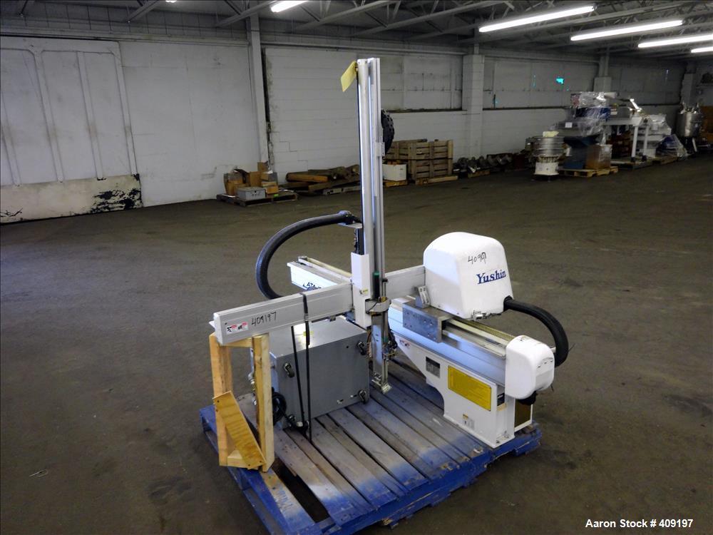 Used- Yushin America 1-Stage Servo Traverse Robot, Model ATA-150S.