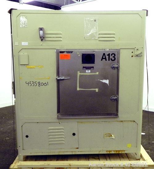 "Used- Atlas Model CI65 Weather-Ometer, 304 Stainless Steel. Inside 43-1/2"" wide x 39-1/2"" deep x 34"" tall. Door opening 29-1..."