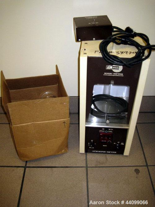Used- ATM Corp. Sonic Sifter, Model L3P, Series F. 120 Volt, 180 watts, serial# A-5023.
