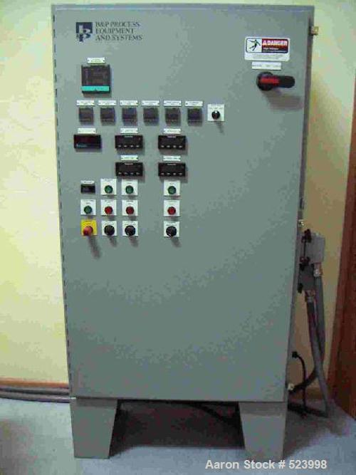 USED: Lab compounder Ko-Kneader, B & P Process Equipment type CK-30,with direct flanged crosshead extruder. Throughput 25 kg...