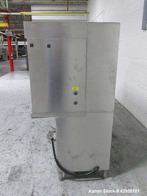 Used- Baker Company Edge Guard Horizontal Laminar Flow Hood, Model EG-6252. Stainless steel contact surfaces, approximate 70...