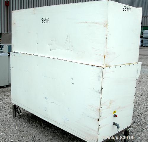"Used- Baker Company Biological Safety Cabinet, Model SG-600, 304 Stainless Steel. Chamber 23"" deep x 72"" wide. Front glass d..."