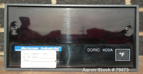 Used- Beckman Industrial Doric Digital Indicator, Model 400A. This is a solid state instrument designed to display a number ...