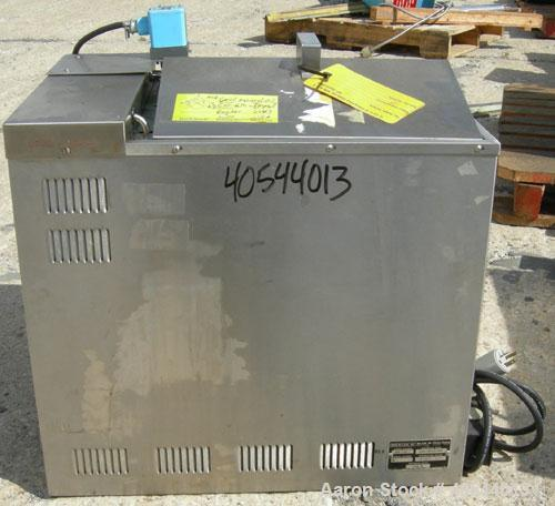 """Used- Blue M Constant Temperature Circulating Water Bath, Model MW-1116C-1, 304 Stainless Steel. Trough measures 16"""" wide x ..."""
