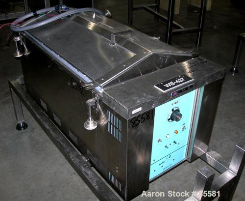 "USED: Blue M circulating water bath, model MW-1140C-1, stainless steel. Trough measures 18"" wide x 36"" long x 9-1/2"" deep. T..."