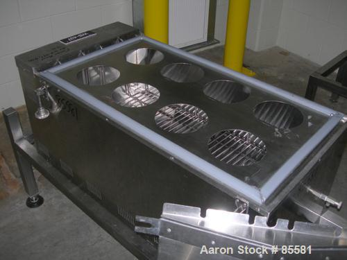 """USED: Blue M circulating water bath, model MW-1140C-1, stainless steel. Trough measures 18"""" wide x 36"""" long x 9-1/2"""" deep. T..."""