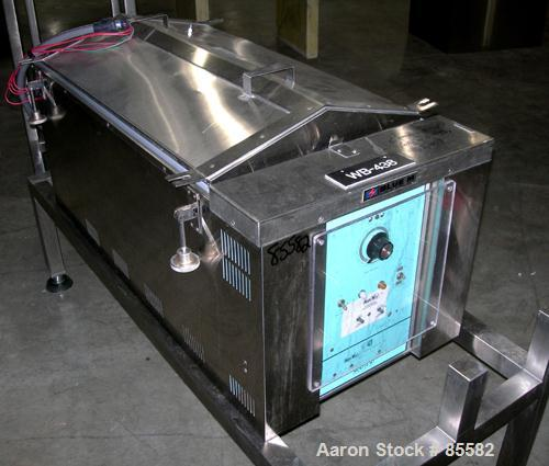 Used- Stainless Steel Blue M Circulating Water Bath, Model MW-1140C-1