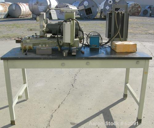 Used- C.W. Brabender Plasti-Corder, Model PL-V300. Driven by a 3 HP, 230 Volt, 2500 RPM motor. Includes a chart recorder and...