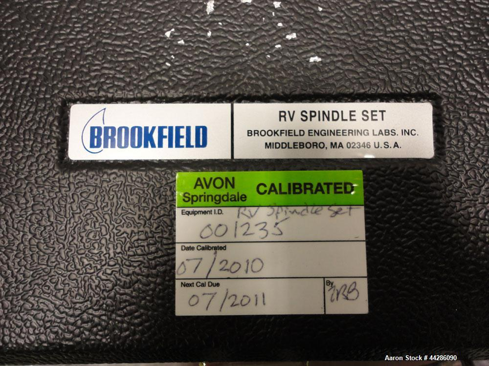 Used- Brookfield Programmable DV-II+ Laboratory Viscometer, Model LVDV-II+. Designed to measure fluid viscosity at given she...