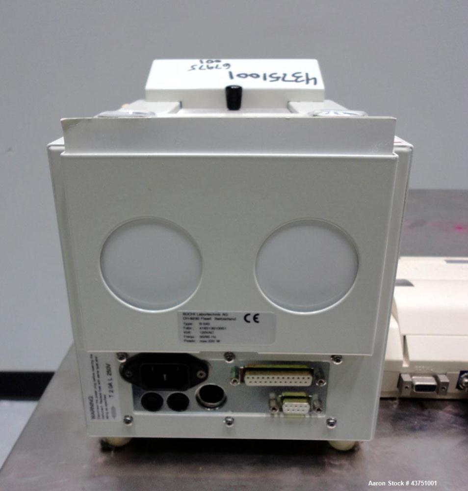 Used- Buchi Melting Point Instrument, Model B-545. Designed to detect the melting and boiling points of a wide range of subs...