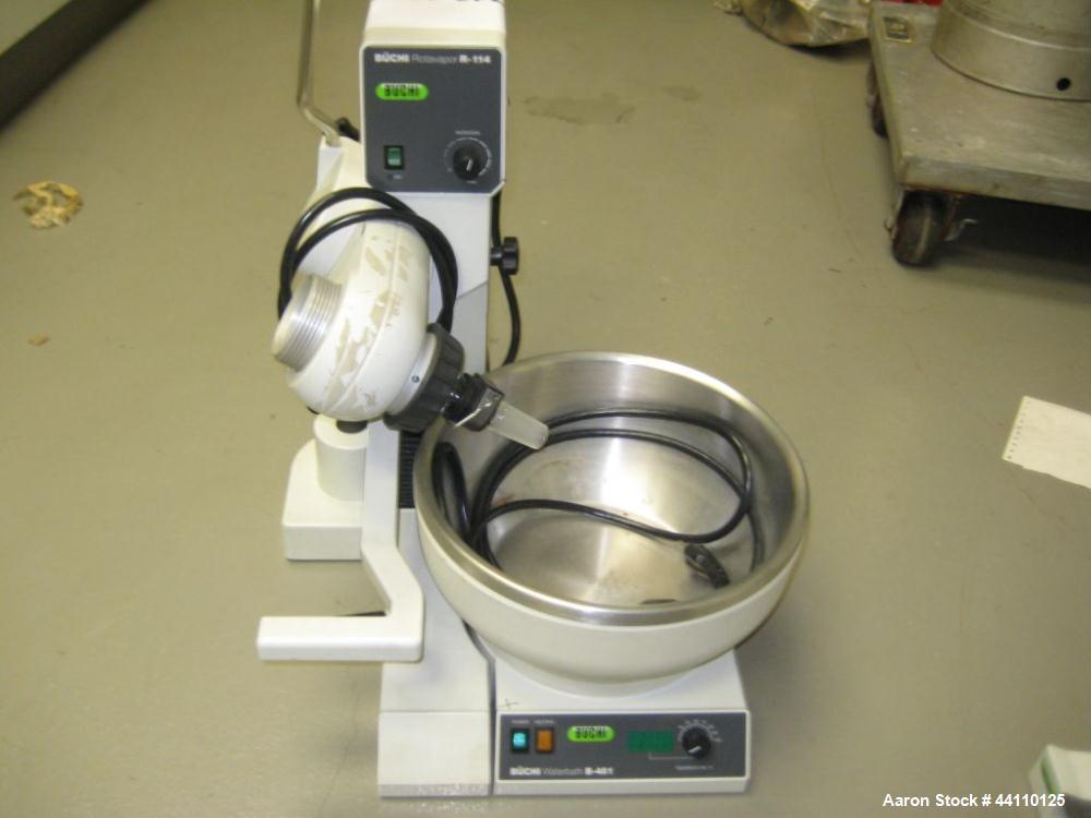 Used- Buchi Rotavapor R114 & Waterbath B481