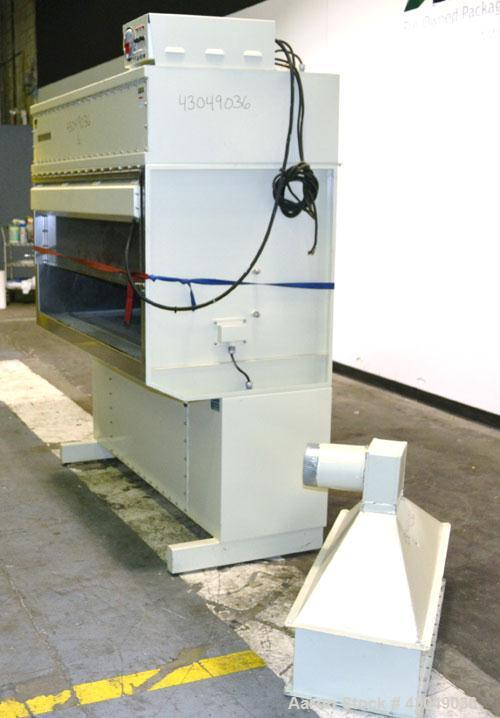 "Used- Contamination Control/ CCI Fume Hood, Model 750, Stainless Steel. 58"" Wide."
