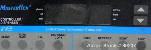 Used: Cole Parmer Masterflex cartridge pump, model 7519-05