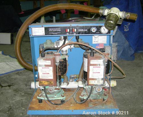 USED: Den-Tal-EZ dual vacuum unit dental pump, model MC-201.