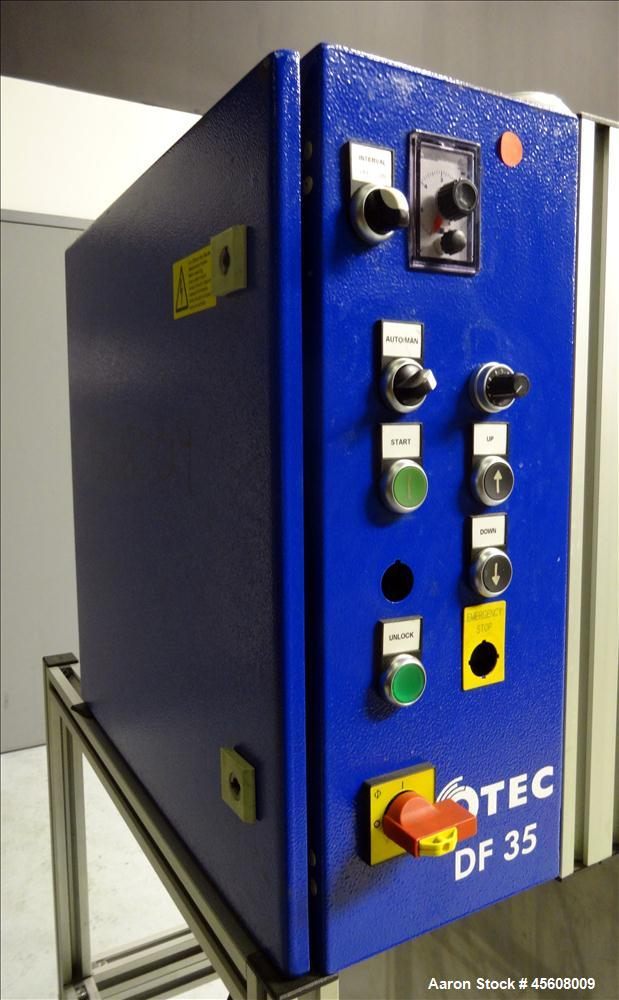 Used- OTEC Series DF Drag-Finishing Machine, Model DF 35.