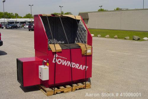 Used- Diversi-Tech Self-Cleaning, Down Draft Work Table, Model DD-3x4. Includes the following: 7.5 hp, 460/3/60 motor, high ...