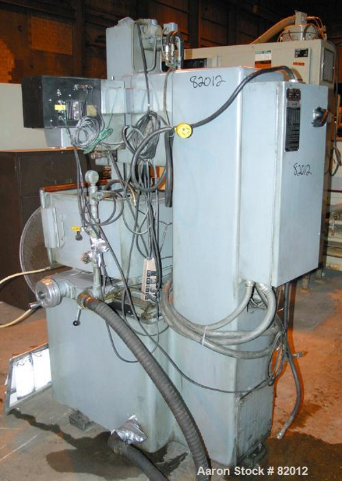"USED: Elox Ram Type Electrical Discharge Machine, model HRP-62. Ram travel 8"", accuracy in 12"" travel -.0005"". Platen size 7..."