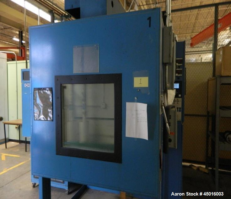 Used-Envirotronics Model EV-33 Test Chamber with a Keep Rite model KCM010 external condensing unit.