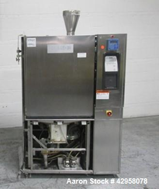 Used- Hamo Glassware Washer, Modle F-21. Stainless steel product contact surfaces, with controls, 480 volt, serial# 2.87.5.2...