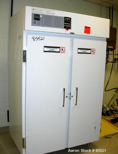 "Used- Fisher Scientific ISO Temp Refrigerator, Model 13-988-450RW. 1/60/115 volt. Approximate 46 cubic foot chamber, 48"" wid..."