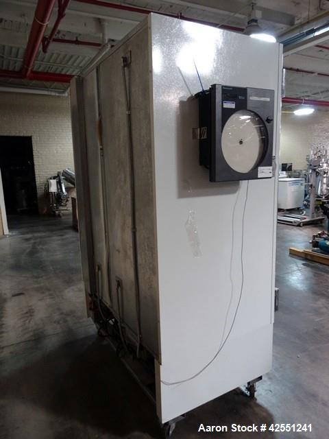 """Used-Jordon Scientific Freezer, Model FT-2-BRGCH-V2. Dual sided with dual glass doors, approximately 23"""" wide x 25"""" deep she..."""