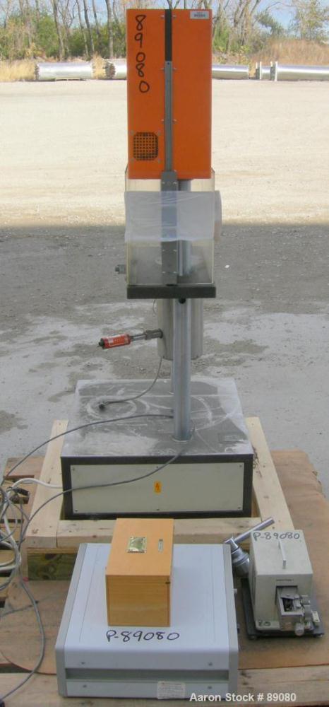 USED- Gottfert Capillary Rheometer, Model 012.01, Series 1000. Approximate 9.5 mm diameter x 200 mm long test barrel, rated ...