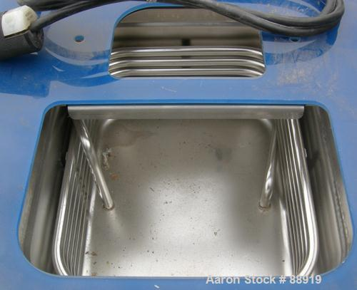 """USED: Thermo Haake refrigerated circulating bath, model C50P, stainless steel. Temp range approximately -50 to 150 deg C, 9""""..."""