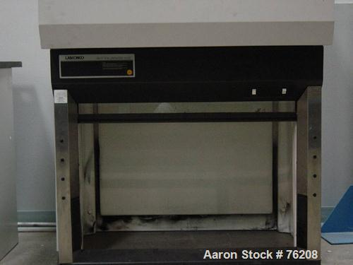 USED: Hemco 4' fume hood. Manufactured from fire retardant, chemical resistant composite materials.