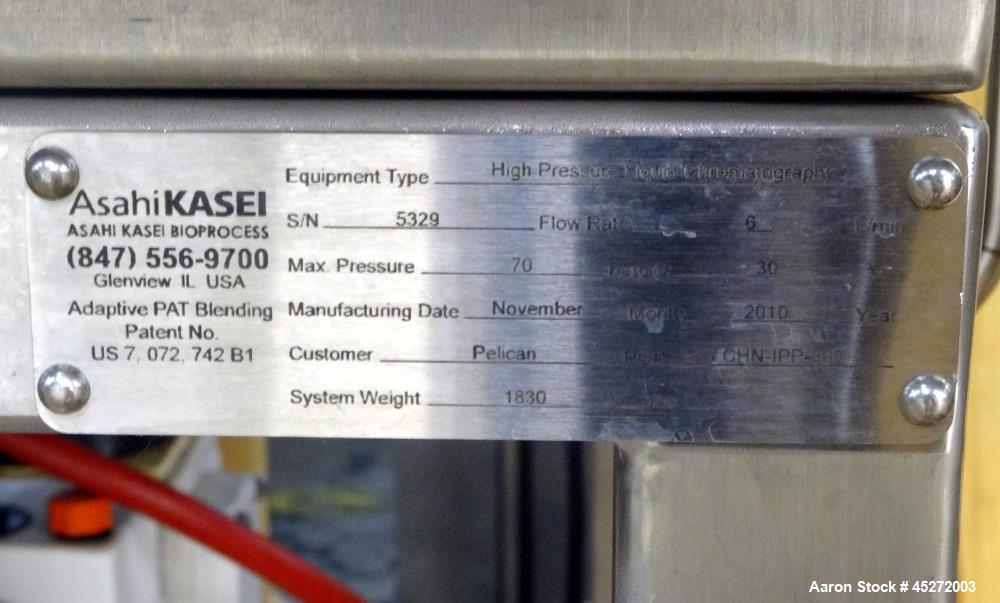Used- Asahi Kasei Bioprocess High Pressure Chromatography System