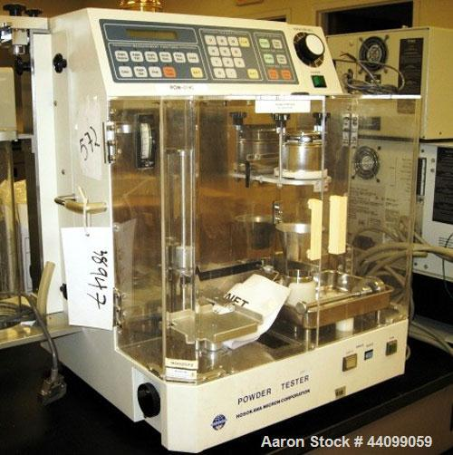 Used- Hosokawa Micro Powder Tester, Model PT-N
