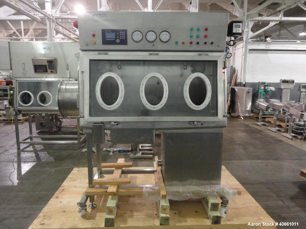 """Used- Howorth Air Technology Isolator, Model API Isolator. 316L Stainless steel construction. Approximately 60"""" wide x 24"""" d..."""