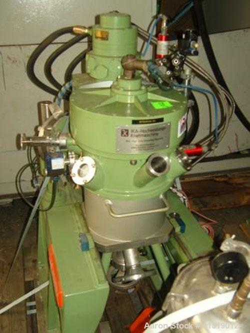 Unused-IKA HKV-5 VHVX-VE Lab Size Vertical High Speed Mixer, stainless steel, total capacity 1.32 gallons (5 liters), 4 hp/3...